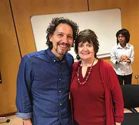 Rencontres entre Lionel Vernois et Betty Alice Erickson lors d'un Workshop